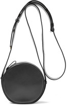 Diane von Furstenberg Circle Leather Shoulder Bag - Black