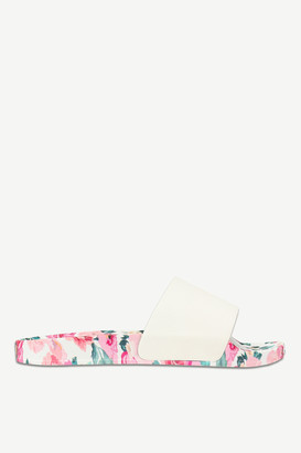 Ardene Floral Pool Slides