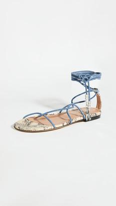 Isabel Marant Jindia Flat Strappy Sandals