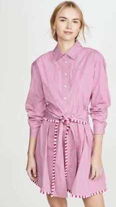 Derek Lam 10 Crosby Iona Belted Shirt Dress