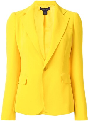 Ralph Lauren Collection Tailored Single-Breasted Blazer