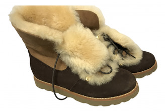 UGG Brown Shearling Boots