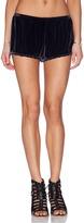 Merritt Charles Falster Shorts Velvet Indigo