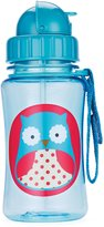 Skip Hop Zoo Straw Bottle, 12 oz, Otis
