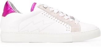 Zadig & Voltaire Stud Embellished Low Top Sneakers