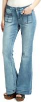 Earl Jean Blue Light Wash Flare Jeans