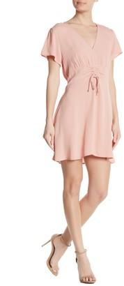 Cotton On Marissa Gathered Tie Mini Dress
