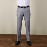 Jeff Banks Grey Twill Regular Fit 2 Button Trouser