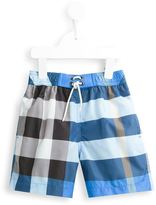 Burberry Nova Check swim shorts - kids - Polyester - 4 yrs