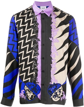Emilio Pucci x Koche Lupa pattern shirt