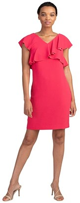 Trina Turk Cameron Dress (Cerise) Women's Dress