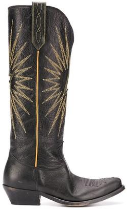 Golden Goose Wish Star knee-high boots