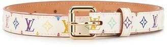 Louis Vuitton Pre-Owned Monogram Square Buckle Belt