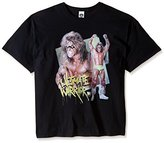 WWE Men's Big-Tall Ultimate Warrior Pose Men's T-Shirt