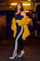 Boohoo Faye Lace Up Side Loopback Jogger