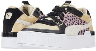 Puma Cali Sport Wild Cats (Pale Khaki White Black) Women's Shoes