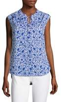 Vineyard Vines Bahamas Otomi Print Top