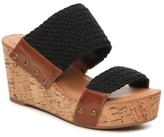 Crown Vintage Double Trouble Wedge Sandal