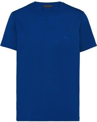 Prada logo-embroidered slim-fit T-shirt