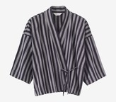 Toast Wide Stripe Kyoto Top