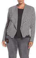 Tart 'Veronicka' Stripe Knit Open Front Jacket