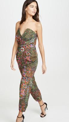 IORANE Multicolor Floral Jumpsuit