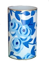 The Well Appointed House Dana Gibson Blue Chintz Pen Holder - IN STOCK IN OUR GREENWICH STORE FOR QUICK SHIPPING