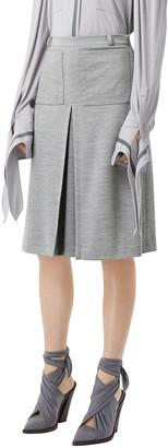 Burberry Jersey A-Line Skirt