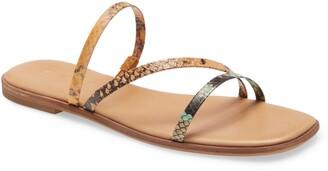 Madewell The Lyra Slide Sandal