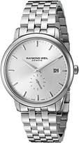 Raymond Weil Men's 5484-ST-65001 Analog Display Quartz Silver Watch by