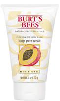 Burt's Bees Peach & Willowbark Pore Scrub by 4oz Scrub)