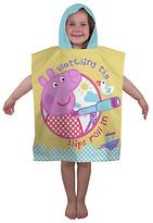 Peppa Pig Nautical Poncho
