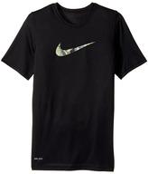 Nike Dry Carbon Swoosh Tee Boy's T Shirt