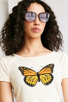 Urban Outfitters Sheila Slim Cat-Eye Sunglasses