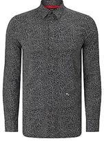 Diesel S-dino Micro Star Shirt, Black