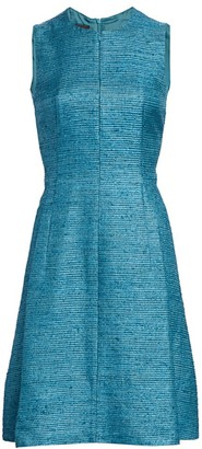 Akris Punto Sleeveless Silk Ottoman Dress
