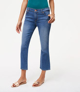 LOFT Tall Curvy Kick Crop Jeans in Vivid Indigo Wash