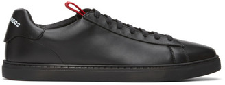 DSQUARED2 Black and White New Tennis Sneakers