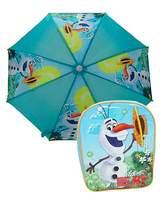 Disney Frozen Olaf Backpack And Umbrella