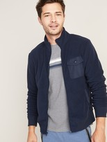 Old Navy Micro Performance Fleece Chest-Pocket Zip Jacket for Men