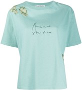 Acne Studios jacquard patch T-shirt