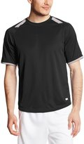 Russell Athletic Men's Dri-Power Tee with Color-Block Inserts