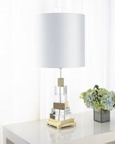 Global Views Twisted Crystal Lamp
