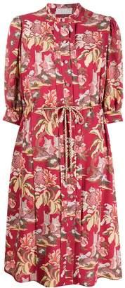 Peter Pilotto floral shirt dress