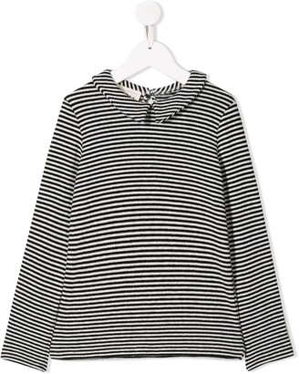 Douuod Kids Long Sleeved Striped Top