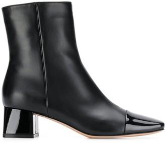 Gianvito Rossi Toe Cap Ankle Boots