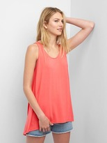 Gap Slouchy scoop-neck tank