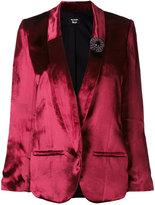 The Kooples jewelled brooch blazer