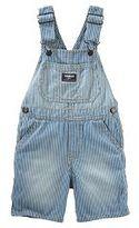 Osh Kosh Baby Boy Hickory Striped Denim Shortalls