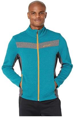 Spyder Encore Full Zip Fleece Jacket (Swell) Men's Coat